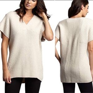 Marie Oliver Jayme Ribbed Popover Sweater Sz M